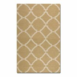 Wheat 8 X 10 Bermuda Flat Weave Wool Rug
