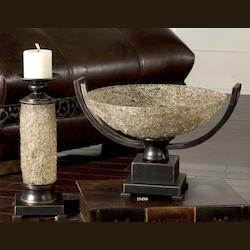 Oil Rubbed Bronze Crystal Palace Centerpiece