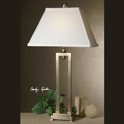 Silver Plate Conrad Table Lamp