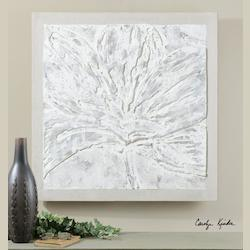 Artwork Reproduction Ghost Bloom Abstract Floral Art