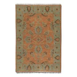 Weathered Rust 8 X 10 Akbar Hand Knotted Wool Rug