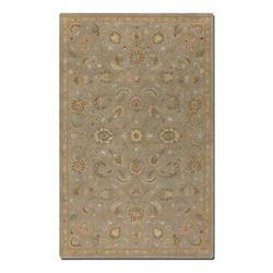 Light Gray 5 x 8 Torrente Hand Tufted Wool Rug