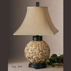 Rattan Calameae 1 Light Table Lamp