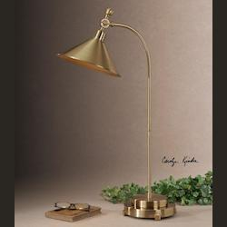 Coffee Bronze Desk Lamp - 151624