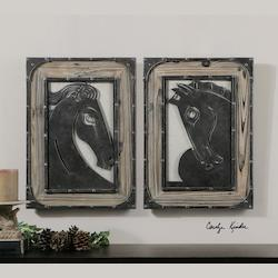Aerion Metal Wall Art Set Of 2