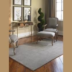 Warm Gray 5 x 8 Cambridge Hand Tufted Wool Rug