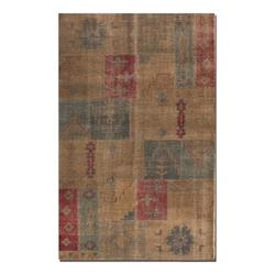 Weathered Brown 6 x 9 Anadolu Hand Knotted Wool Rug