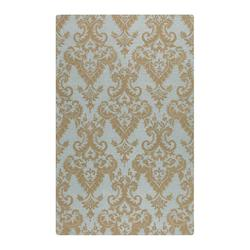Blue-Gray 9 X 12 Toulouse Hand Tufted Wool Rug