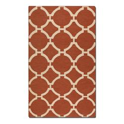 Burnt Sienna Bermuda Burnt Sienna 9Ft. X 12Ft. Rug