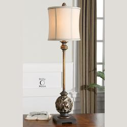 Aged Golden Bronze Shahla Bronze Lamp