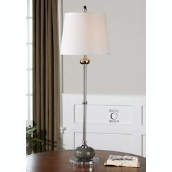 Uttermost Andreis Chrome Accent Lamp - 29934