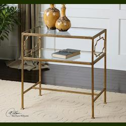 Antique Gold Genell Table