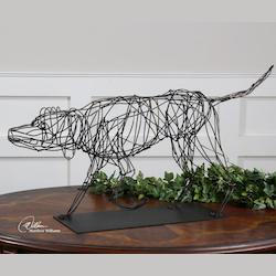 Hound Dog Sculpture - 152276