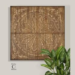 Natural Wood Camillus Wall Art