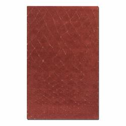 Tuscan Red 5 x 8 Casablanca Hand Tufted Wool Shag Rug