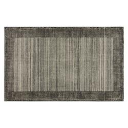 Gray 5 x 8 Zell Hand Loomed Wool Rug