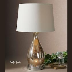 Uttermost Sardinia Silver Table Lamp - 26574