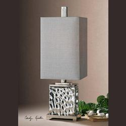 Polished Nickel Bashan Table Lamp
