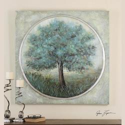 Peaceful Escape Hand Painted Art - 152499