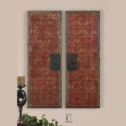 Red Door Panels S/2 - 35002