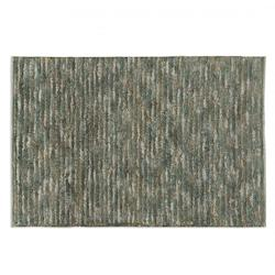 Aqua Blue / Brown 6 x 9 Jessore Aqua Blue / Brown Rug