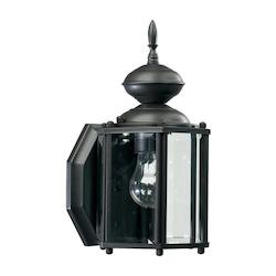 Lantern Family 1-Light Bronze Outdoor Lantern 709-36