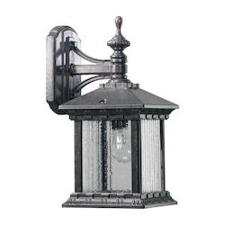 Huxley Family 1-Light Baltic Granite Outdoor Wall Lantern 7461-45