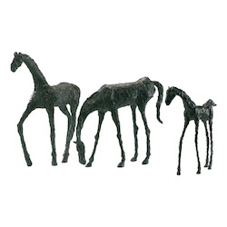 Decorative Filly Sculpture Bronze Finis