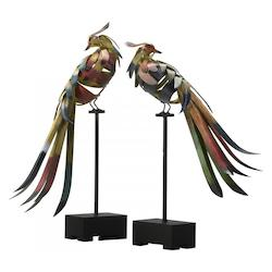 Multi-Color 19.75In. Multi-Colored Birds