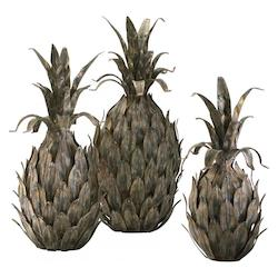 Multi-Color 13.5in. Variegated Pineapples