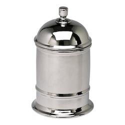 Chrome 12in. Small Chrome Canister