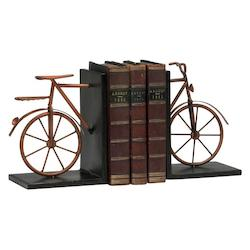 Muted Rust 8.25in. Bicycle Bookends