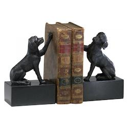 8.25in. Dog Bookends