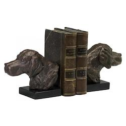 Hound Dog Bookends 02847