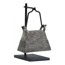 Rust And Verde 9.5In. Antique Livestock Bell #3