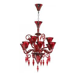 35.25in. Andretti Chandelier from the Lighting Collection