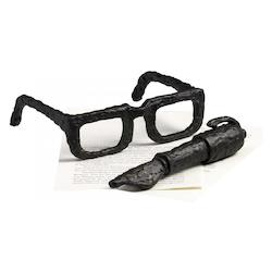 Decorative 2In. Sculptured Spectacles