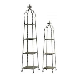 70in. Blanca Storage Stands