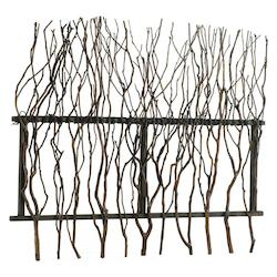 Decorative Rosewood Branch Wall Decor