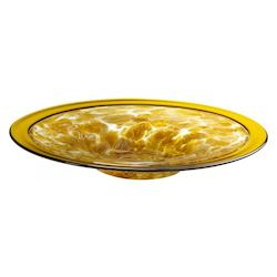 Decorative Amber Large Catalan Plate