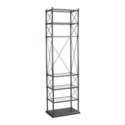Oiled Bronze 6 Shelf Everton Etagere