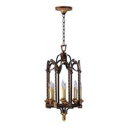 Oiled Bronze San Giorgio 8 Light Full Size Pendant