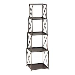 Bronze 5 Shelf Small Surrey Etagere
