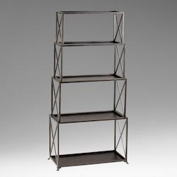 Bronze 5 Shelf Large Surrey Etagere