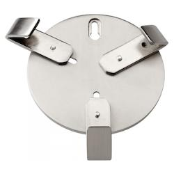 Wall Hanger Satin Nickel Bracket 05028