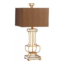 Gold Leaf Pinkston 1 Light Table Lamp