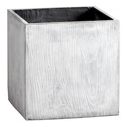 Light Grey 20In. Box Woody Planter