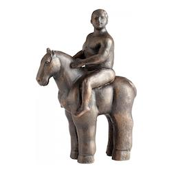 Bronze 10.5In. Giddy Up Sculpture