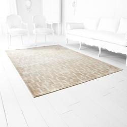 White Corinth Taupe 92.4In. X 63.6In. Rug