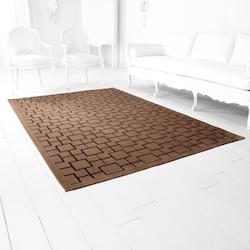 Brown Corinth Brown 127.2In. X 92.4In. Rug